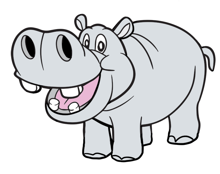 Hippo Cartoon Images - Cliparts.co