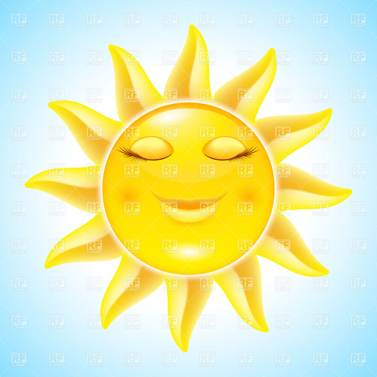 pictures of a cartoon sun clipartsco