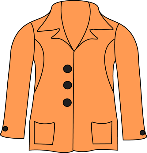 clipart of a jacket - photo #8