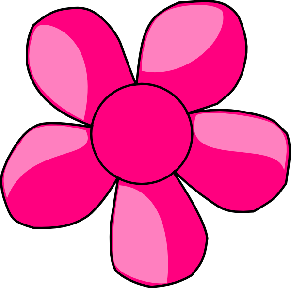 Pink Daisy Flower Clipart | Clipart Panda - Free Clipart Images