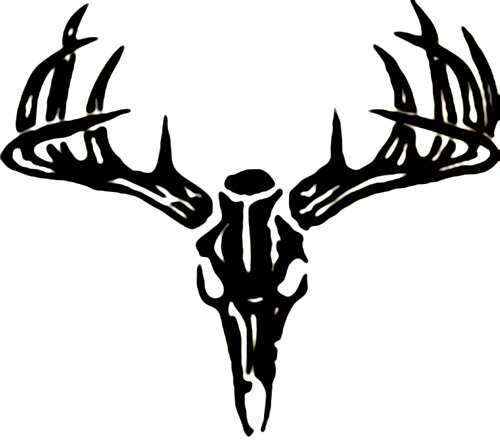Deer Skull Wall Decal - Custom Wall Graphics