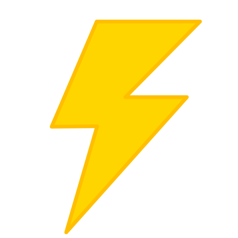 Cartoon Lightning Bolt Pictures - Cliparts.co