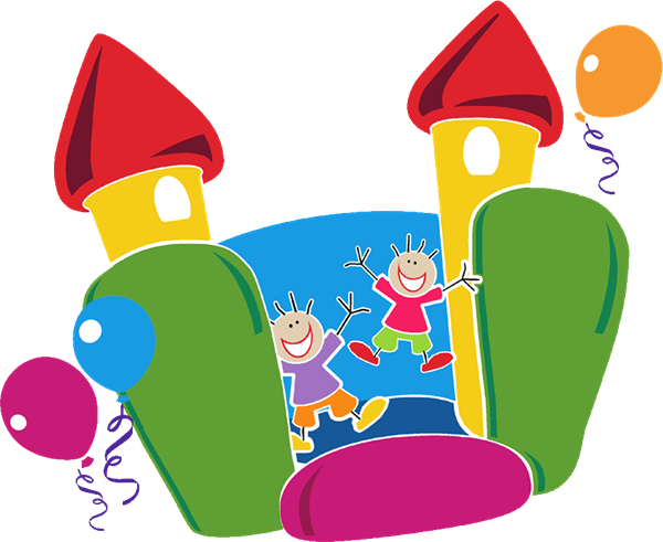 Free Bounce House Clip Art