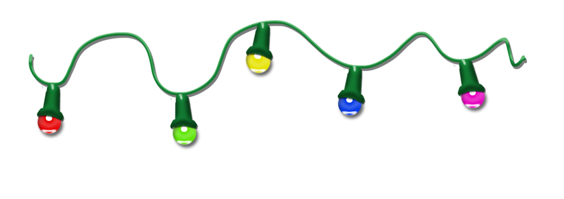 String Lights Transparent : The gallery for --> Transparent Christmas Lights Clipart