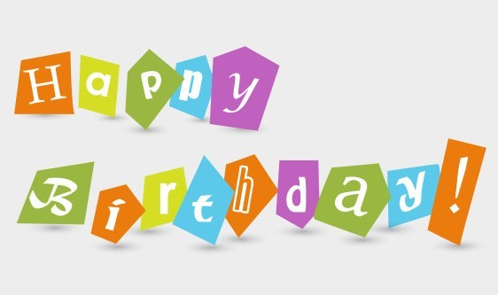 Free Happy Birthday Paper-cut Clip Art » TitanUI