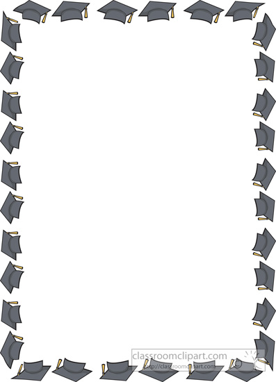Graduation Clip Art Borders - Cliparts.co