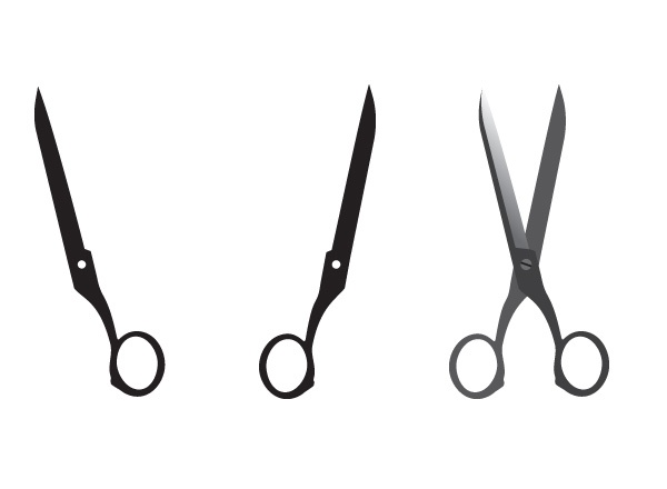 clip art dotted line with scissors - photo #13
