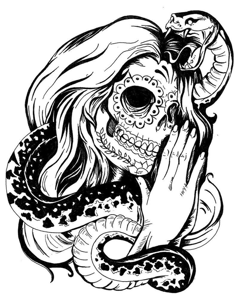 skull tattoo stencils. Black Bedroom Furniture Sets. Home Design Ideas