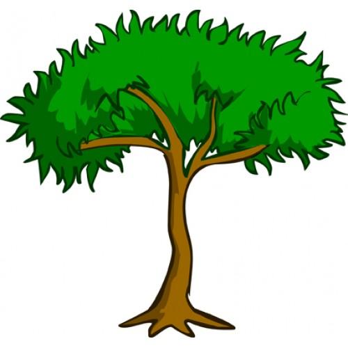 free clipart jungle trees - photo #4