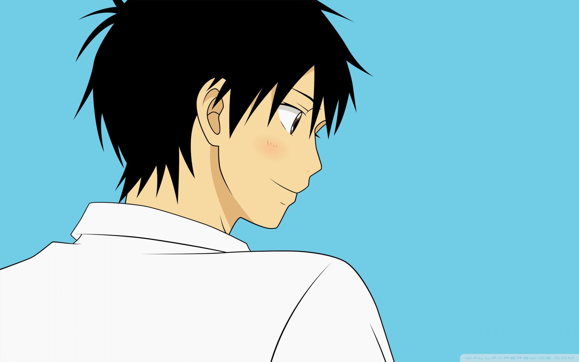 Anime Boy Hair