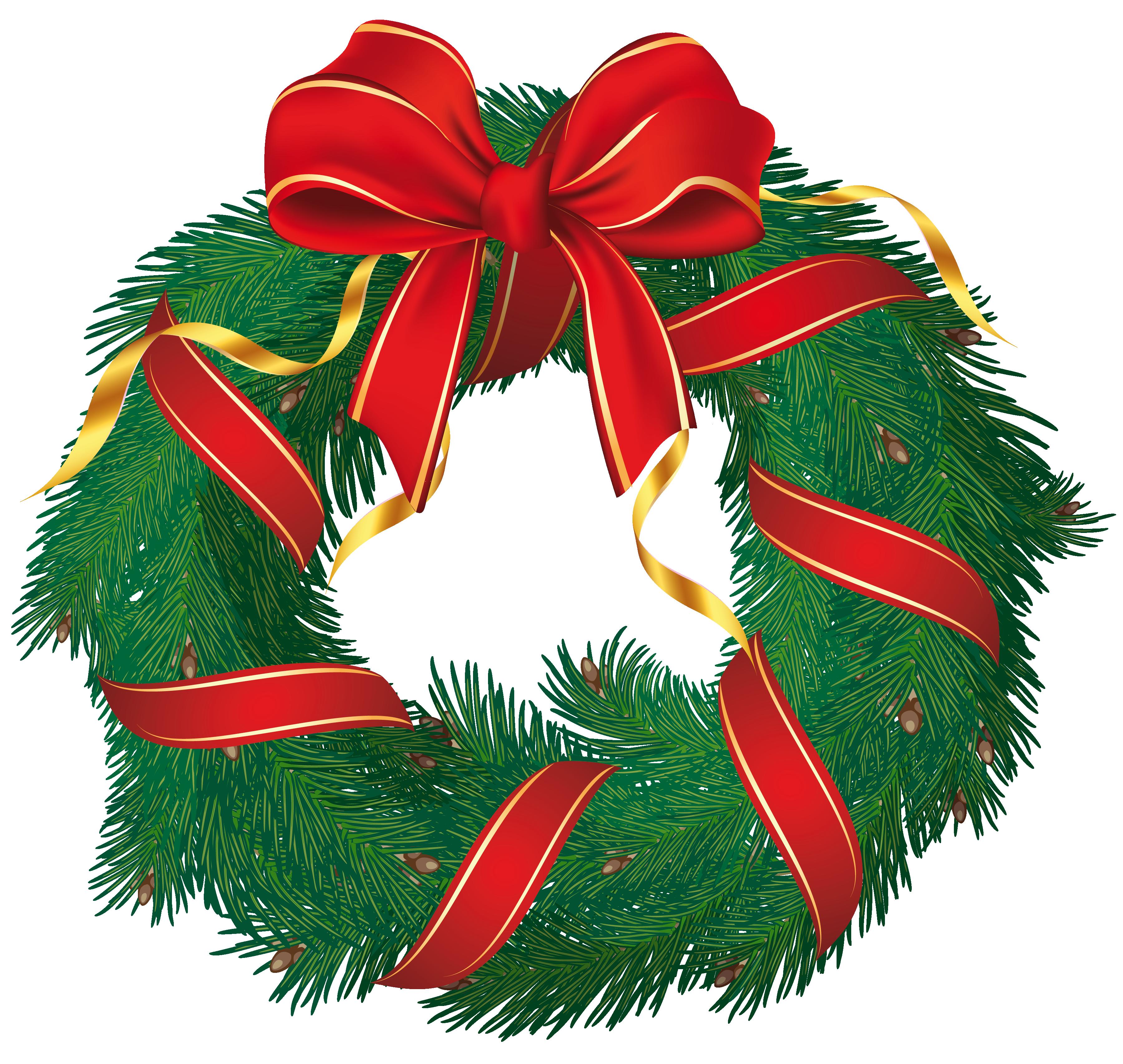 free clip art holiday garland - photo #10