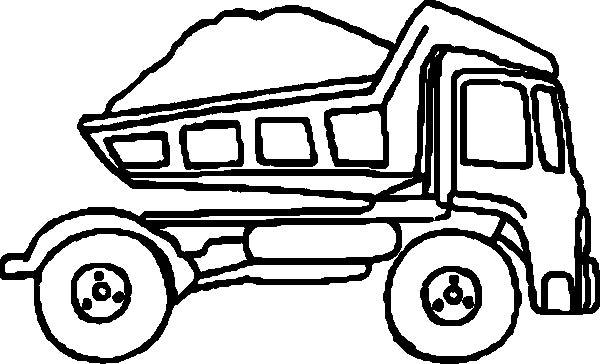 Cement Truck Clip Art