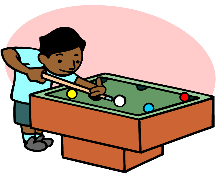 Pool Table Art - Cliparts.co