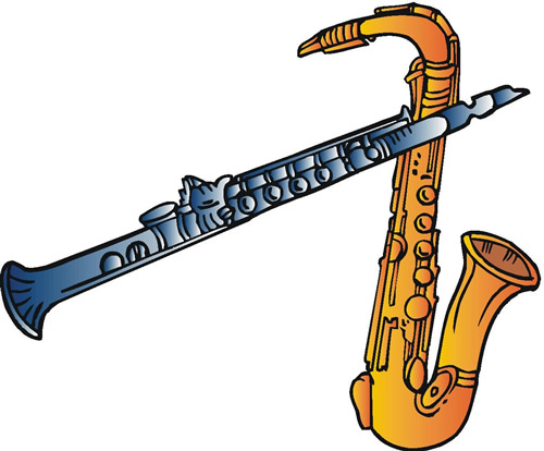 Marching Band Clipart Clarinet Pix For  Marching Band