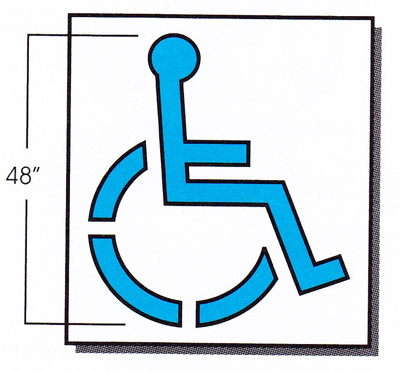 30 Handicapped Parking Symbol Frees That You Can Download To ...