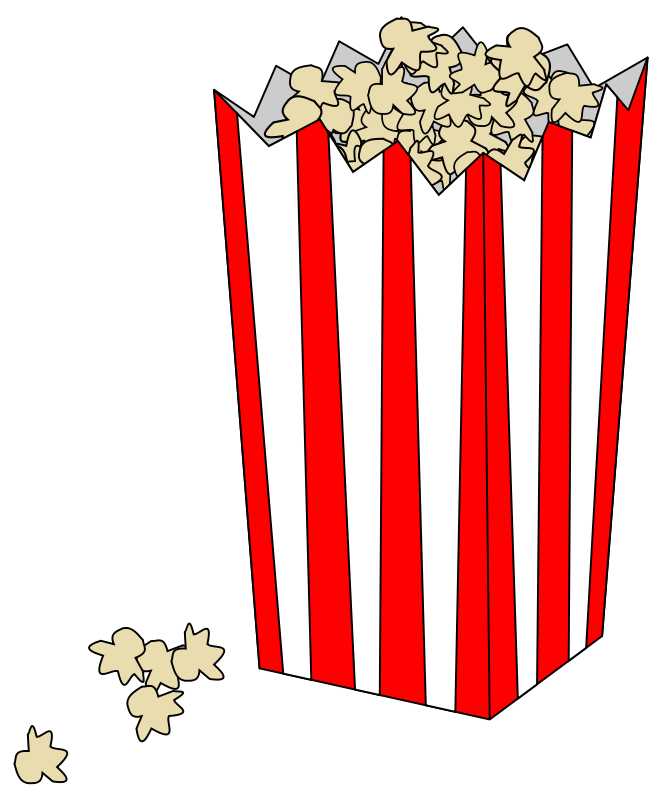 Picture Of Popcorn - Cliparts.co