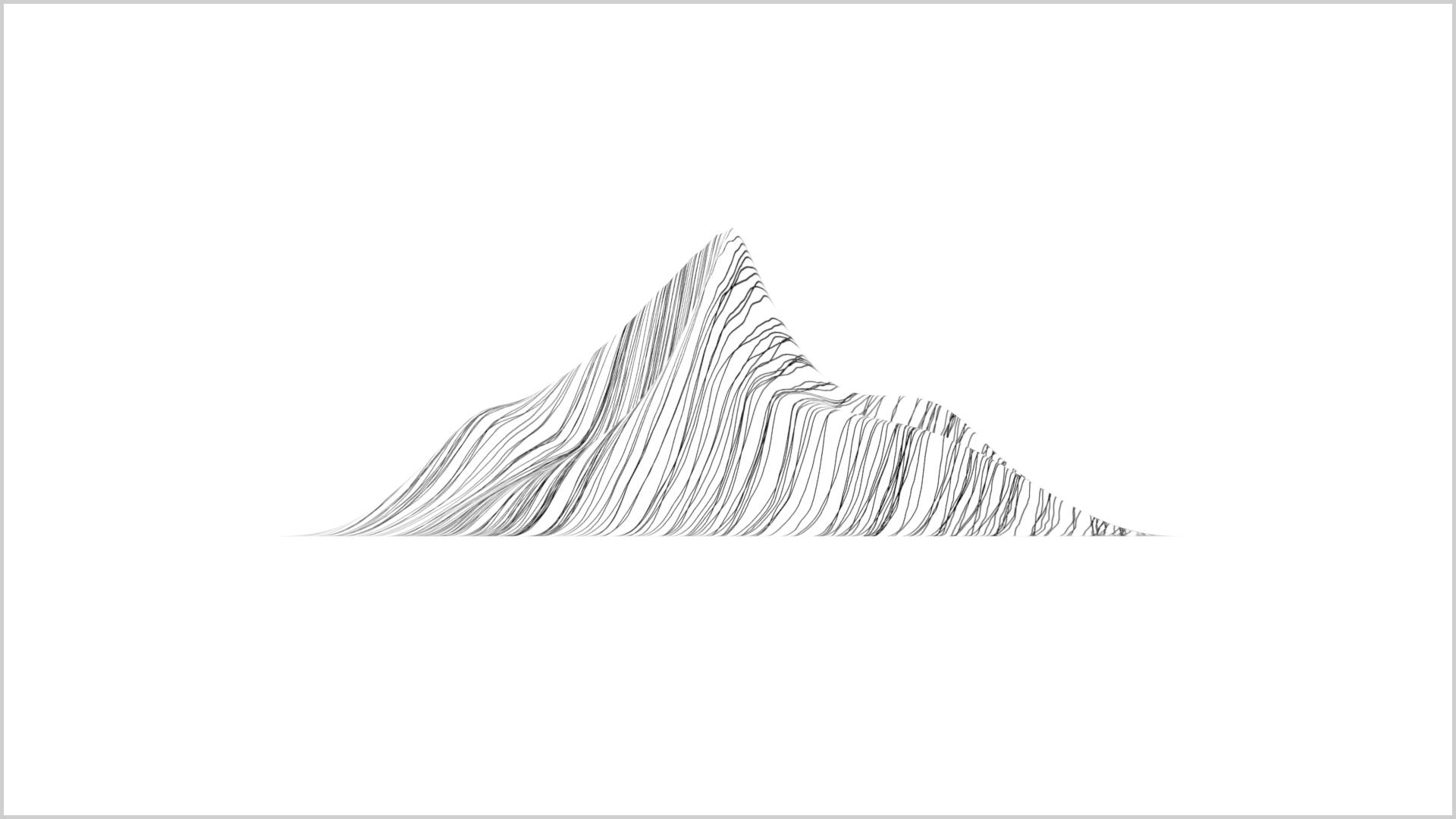 Line Art Mountains : Mountain line vector cliparts