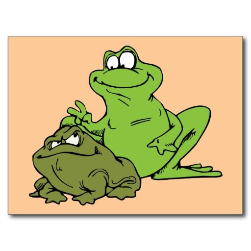 Frog Frogs Toad Toads Cartoon Amphibian Mouse Pad