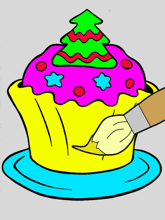 Coloring Book Cupcake - Android Apps on Google Play