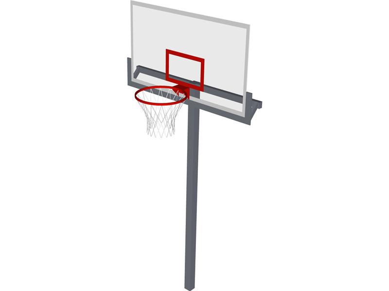 Basketball net cartoon