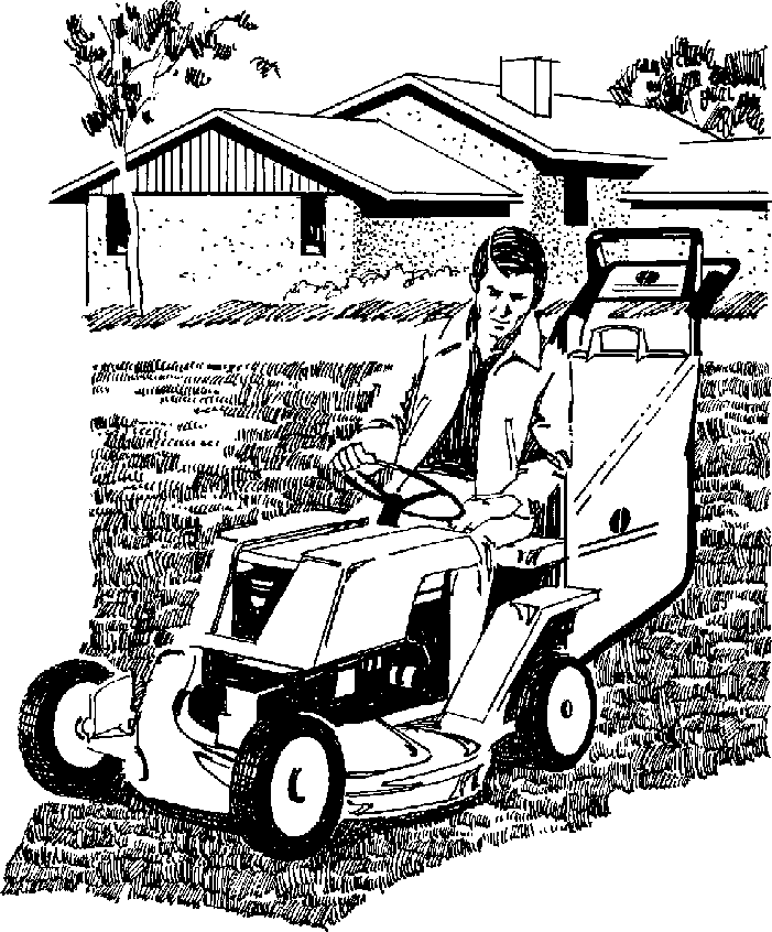 Lawn Mower Clipart Black And White Clipart � practica technical