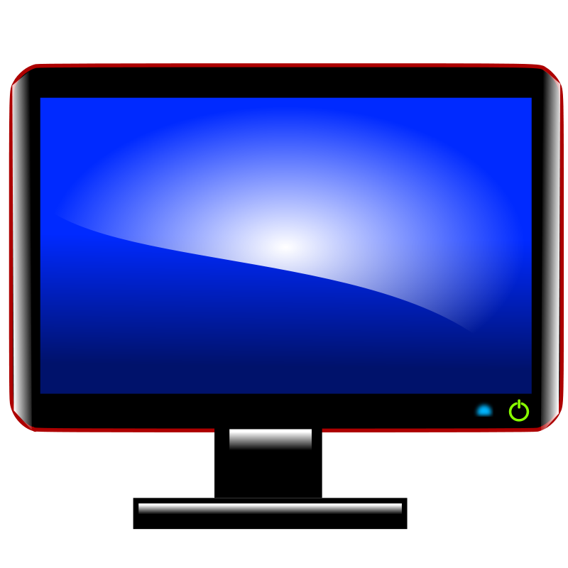 Computer Monitor And Keyboard Clipart | Best Reviews About Audio ...
