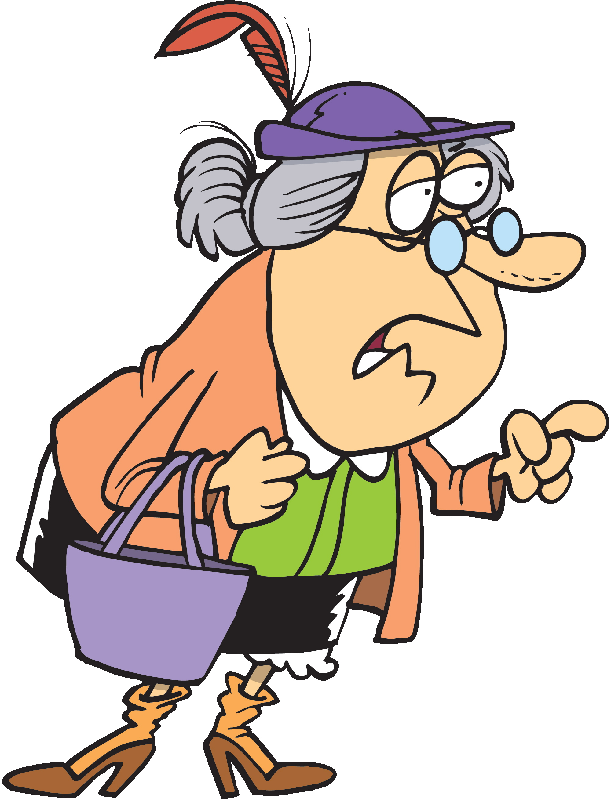 Http Cliparts Co Old Woman Cartoons