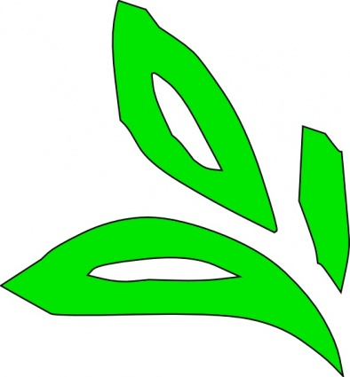 Green Plant Leaves clip art - Download free Other vectors