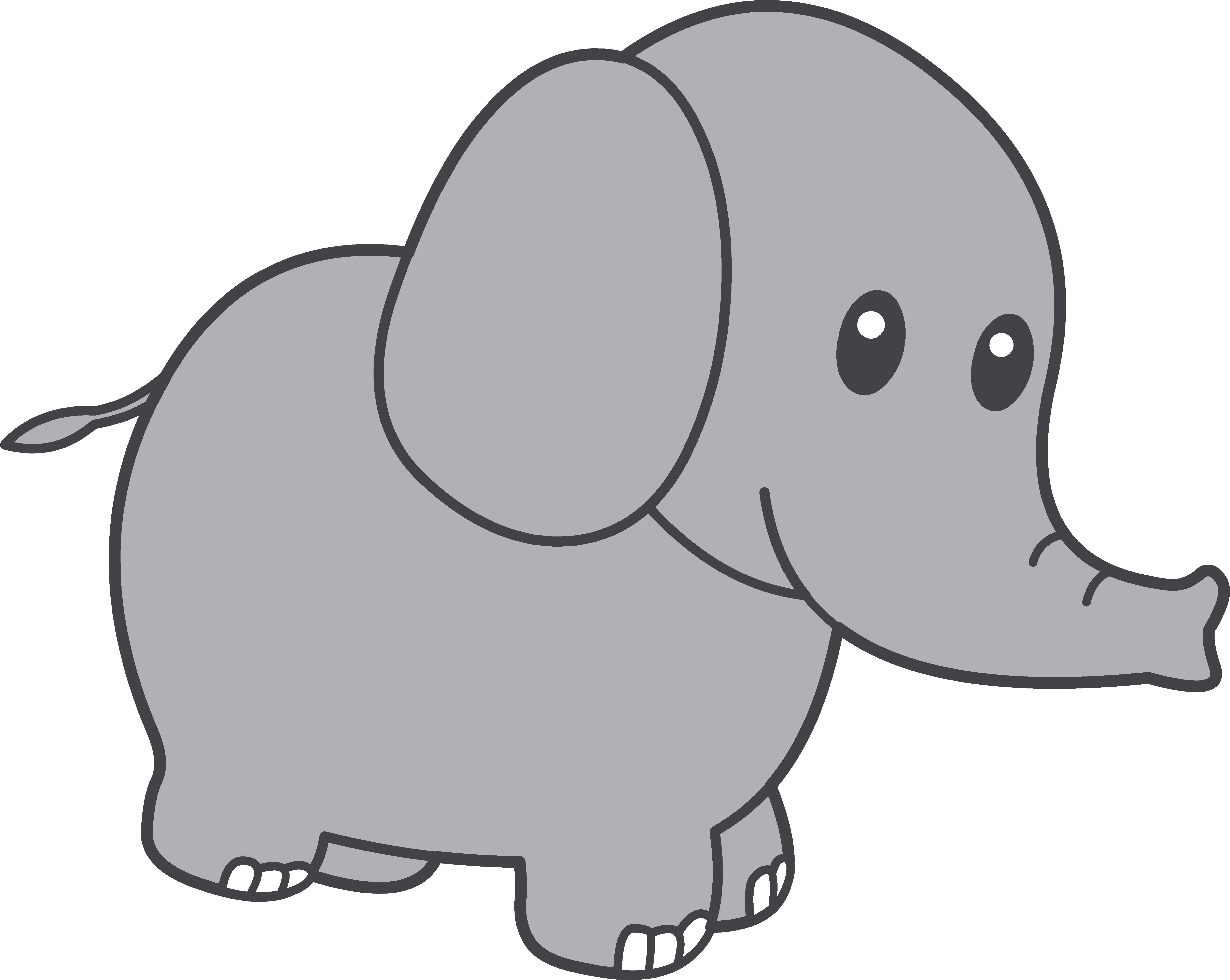 Elephant Clipart Silhouette Free | Clipart Panda - Free Clipart Images