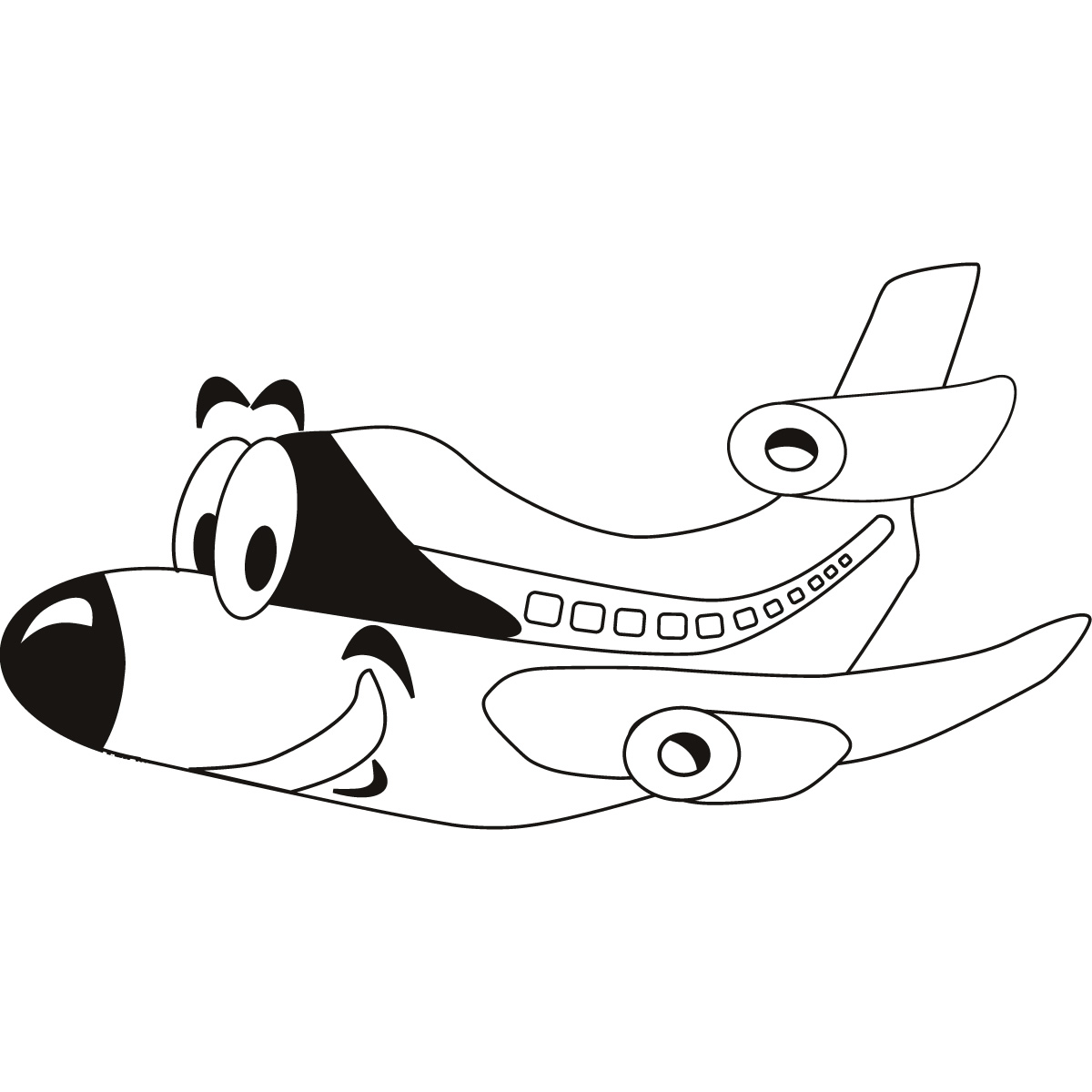 holiday coloring pages airplane coloring page free printable