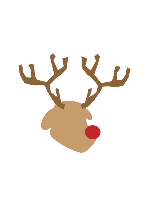 Rudolph The Red Nosed Reindeer Clipart - Cliparts.co