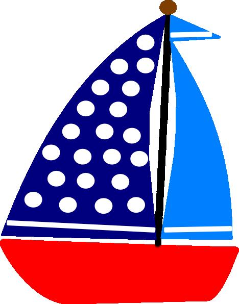 Sail Boat clip art - vector clip art online, royalty free & public ...