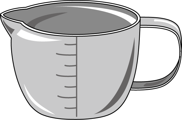 Measuring Cup Of Water Clipart | Clipart Panda - Free Clipart Images