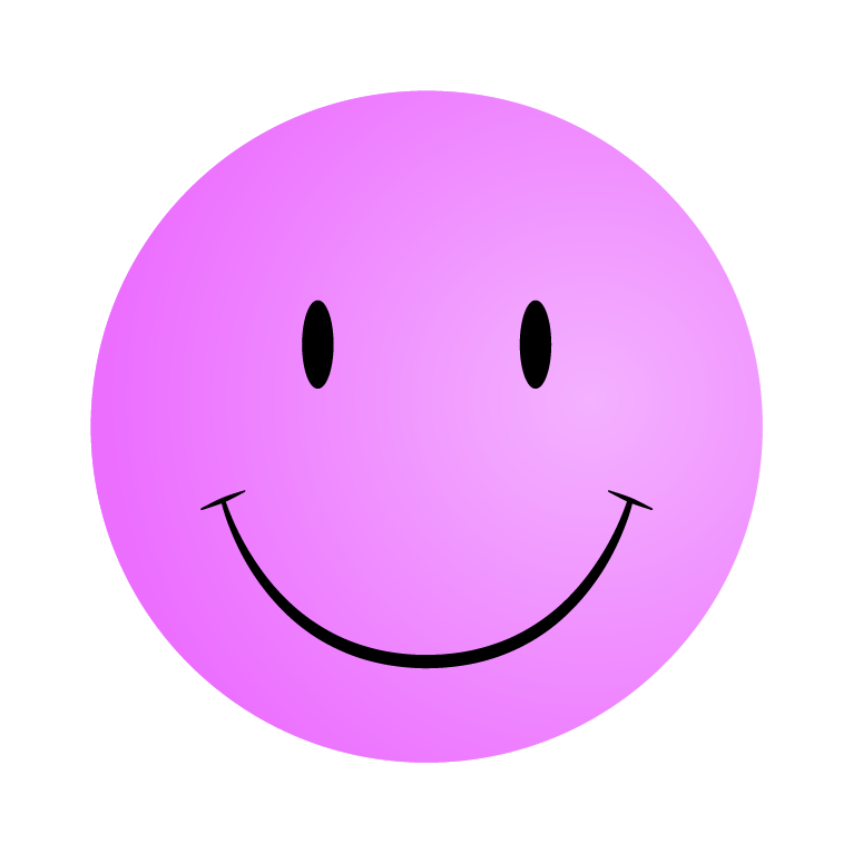 Pink Smiley Face Clip Art | Bed Mattress Sale