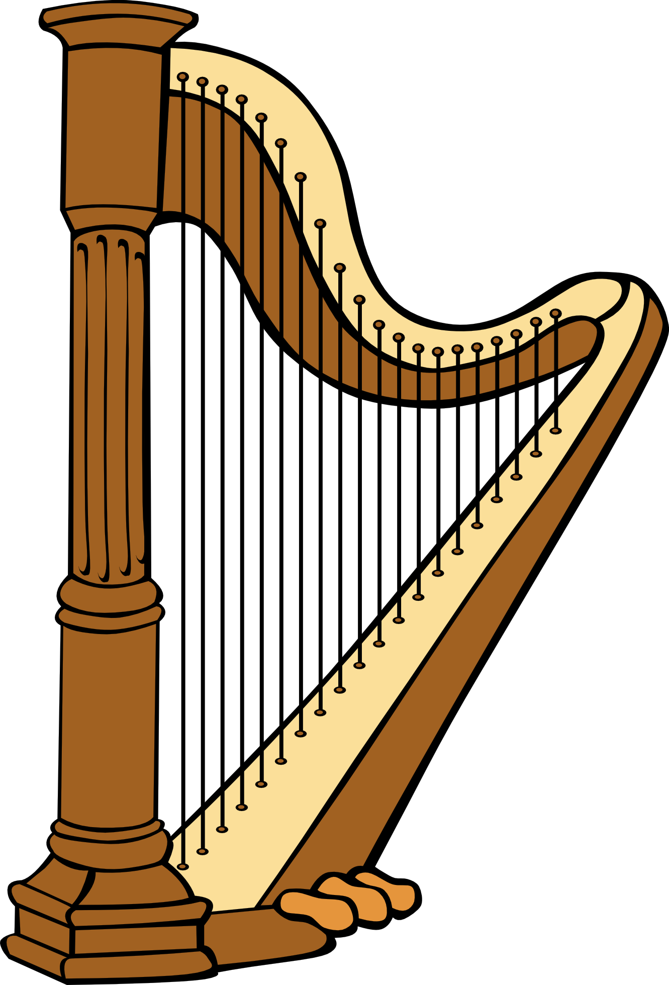 Harp 20clipart | Clipart Panda - Free Clipart Images