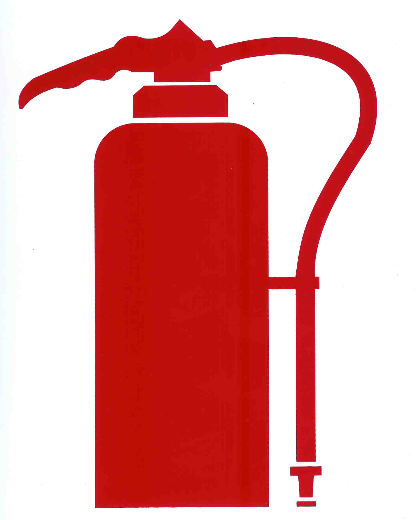 printable fire extinguisher signs clipartsco