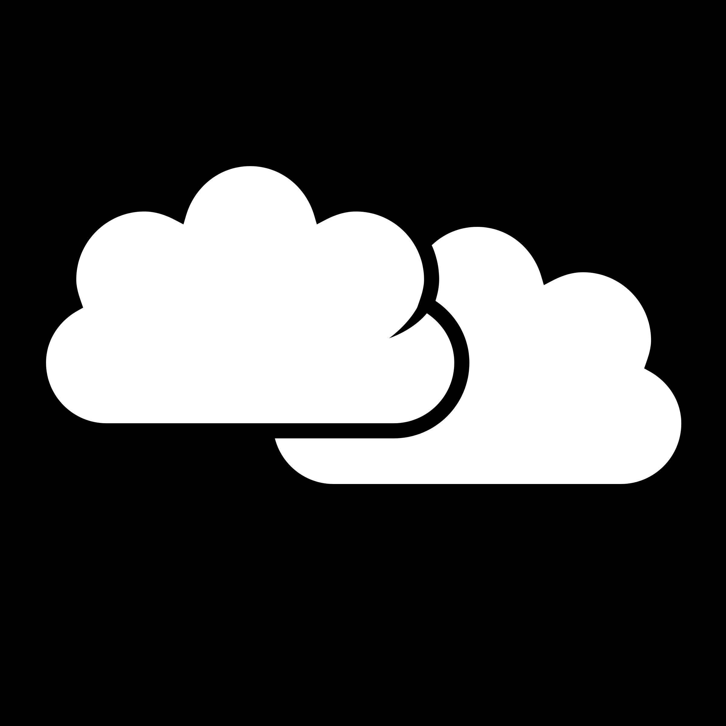 white sunny clouds clipart rh worldartsme com clip art clouds black and white clip art clouds of glory