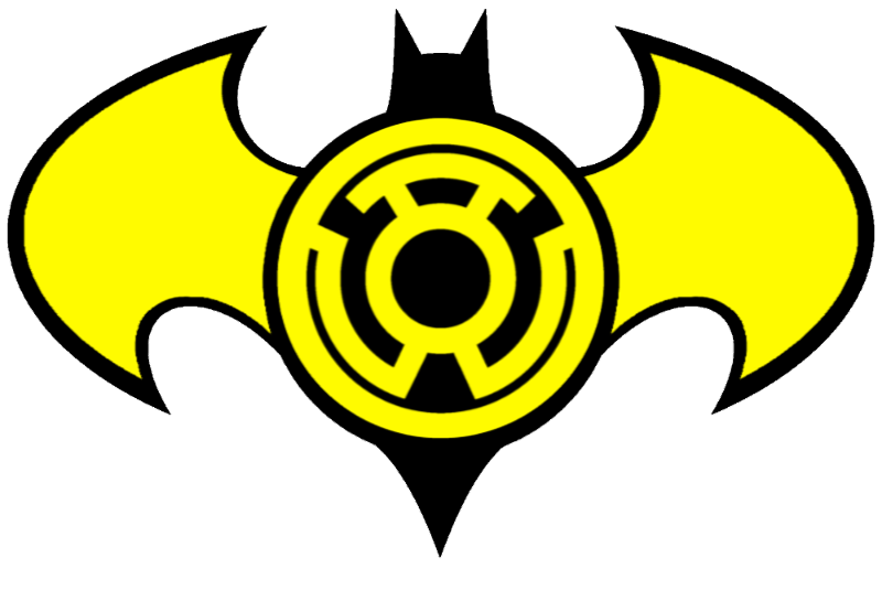 Sinestro Batman Logo by LordOmegaZ on deviantART