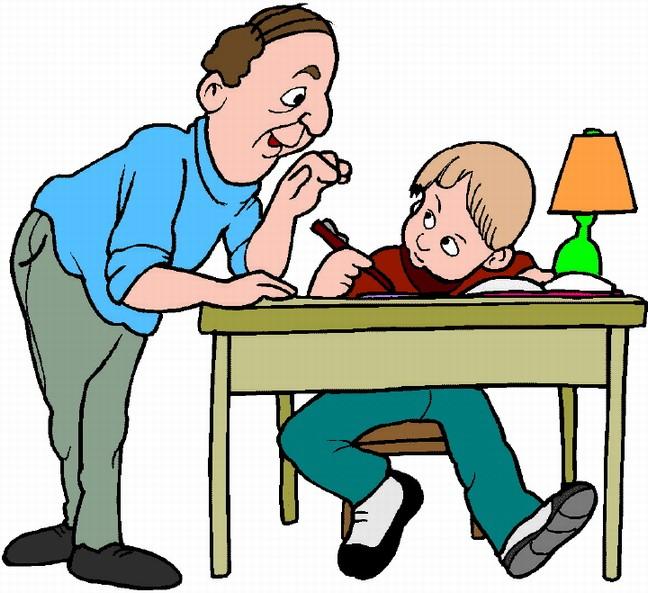 Do parents help with homework