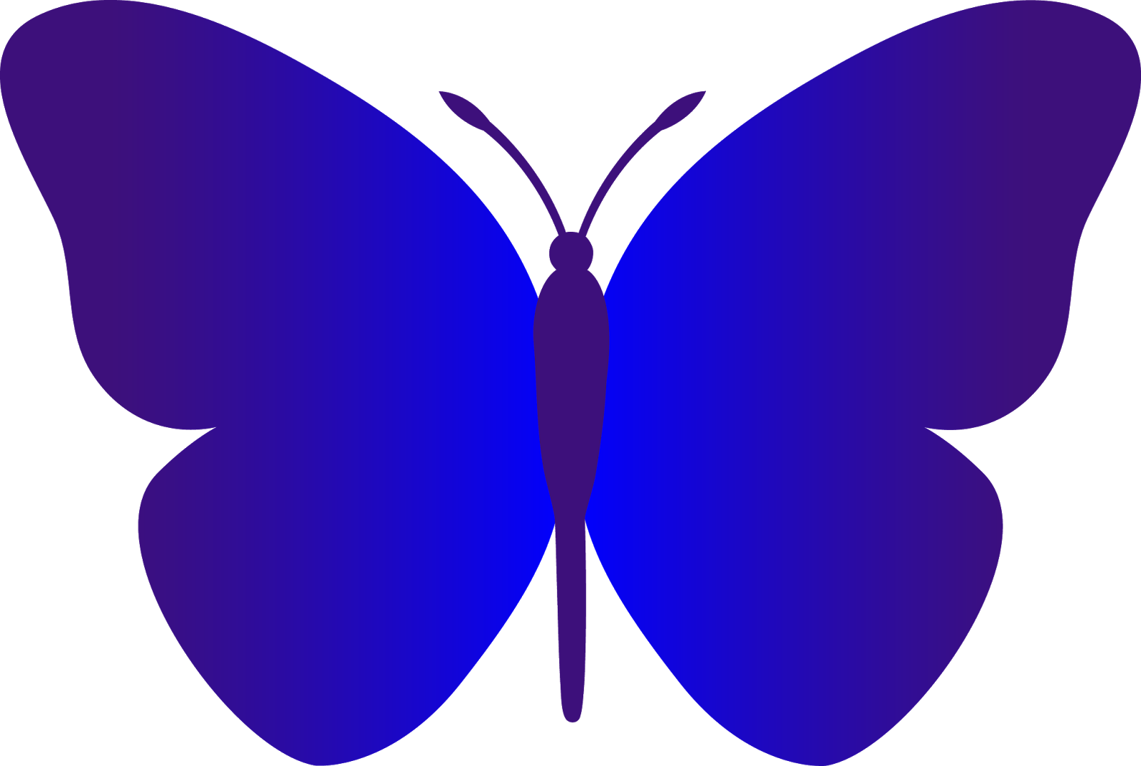 Simple Butterfly Clip Art Hd Images 3 HD Wallpapers | amagico.