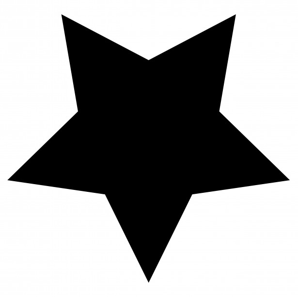 Star Clip Art Black And White - ClipArt Best