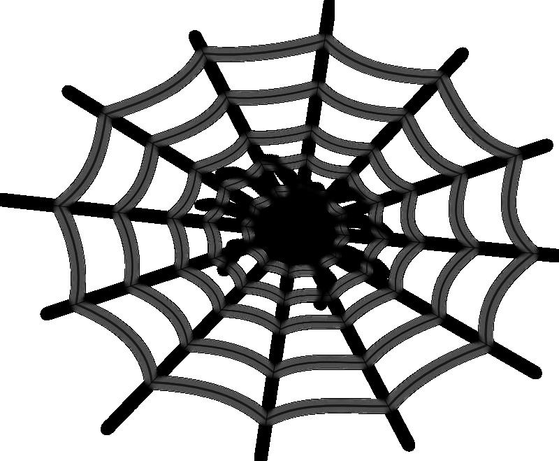 spider web clip art clipartsco