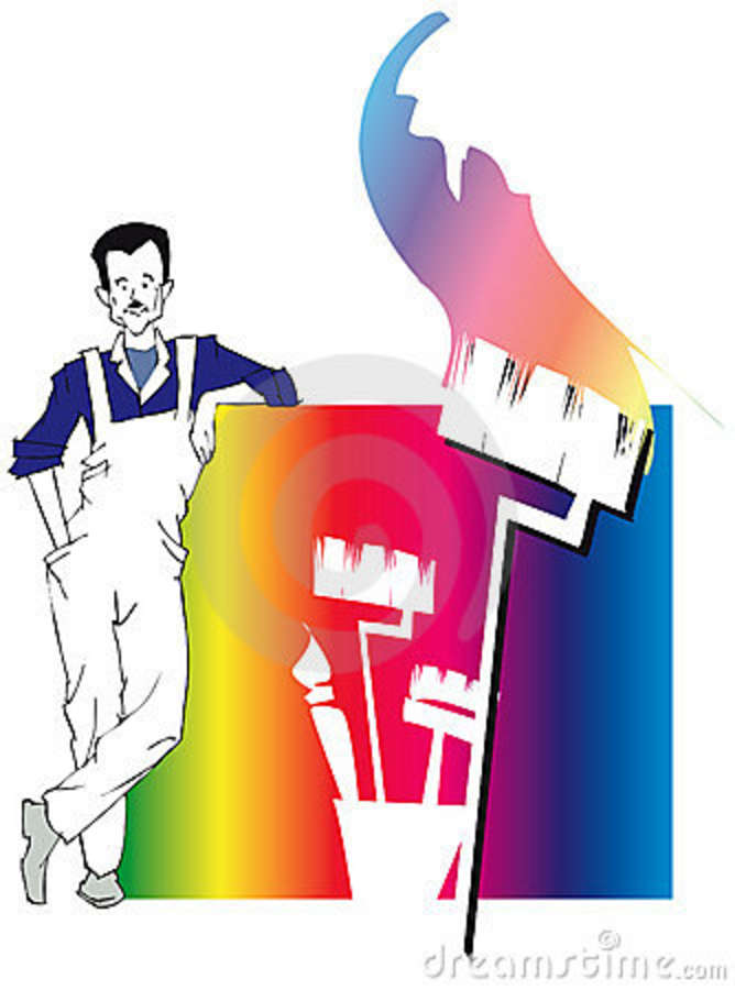 House Painting Clip Art - Cliparts.co