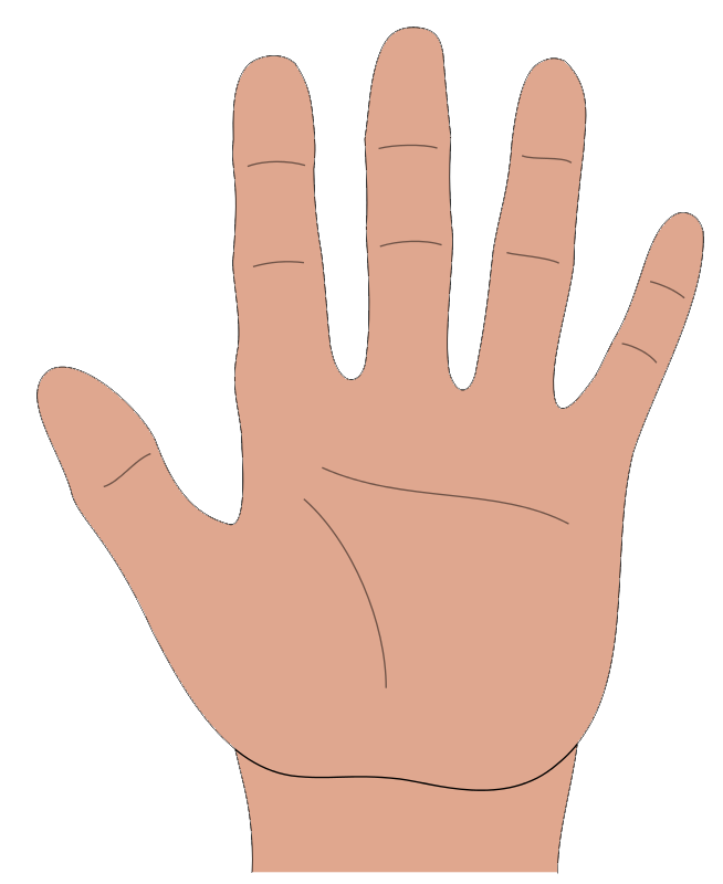 Hand Cartoon - Cliparts.co