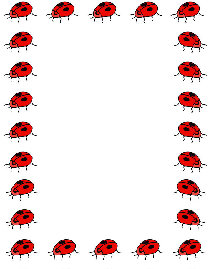 Ladybug printable Mike Folkerth - King of Simple - Western Colorado