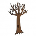 Brown wall decal