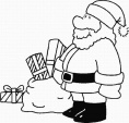 Santa Boot Coloring Pages  2019 Open Coloring Pages