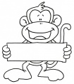How to Draw a MONKEY easy and cute  YouTube